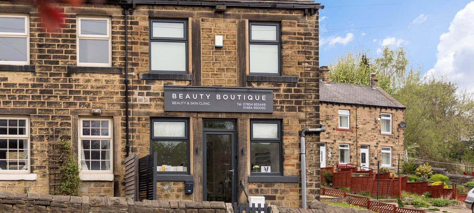 Commercial Renovation Transformed Beauty Boutique by UPVC Spray Painters