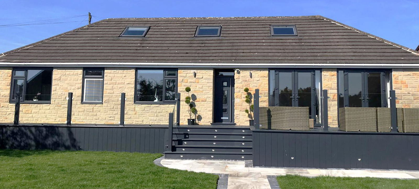 Full House Transformation - White to Anthracite Grey