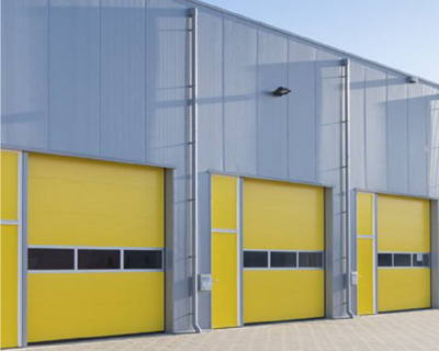 Industrial Painting Works - Cladding Panels Spray Painted by UPVC Spray Painters